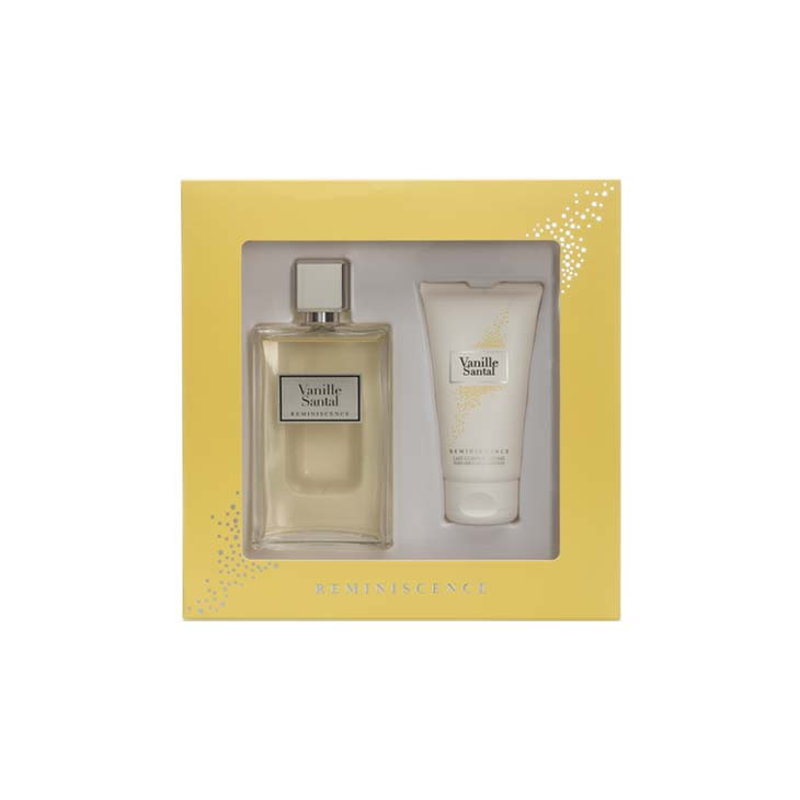 COFFRET VANILLE SANTAL 100 ML + LAIT 75ML